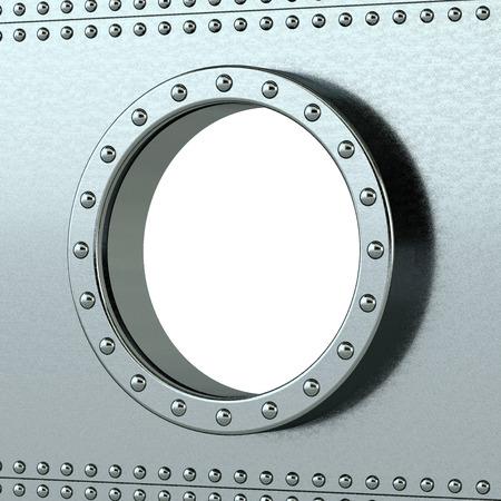ship porthole - insert your own image photo