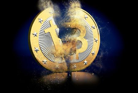 peer: Bitcoin - breaks in two