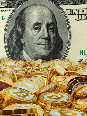 finacial: Bitcoins and Dollar