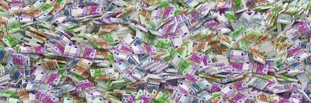 banconote euro: Milioni di euro di euro banconote Archivio Fotografico
