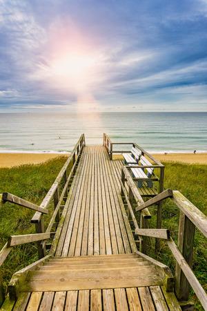 wooden pier - seaview