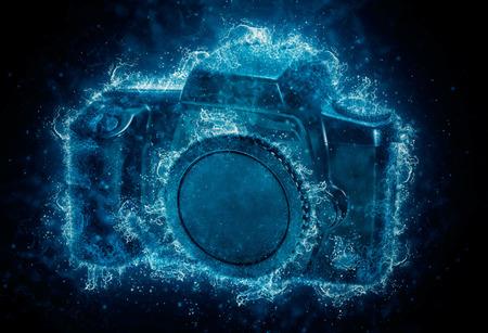 wather: camera - water splashes