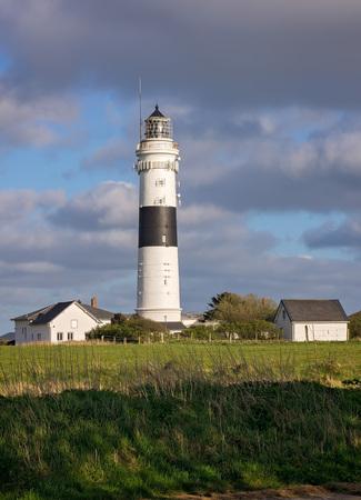 german north sea region: Lighthouse - Sylt, Germany