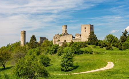 ruin: Castle Ruin Brandenburg - Germany Stock Photo