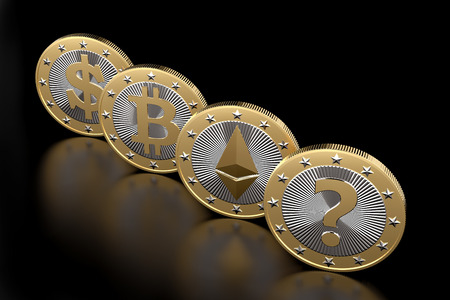 Cryptocurrency - What is the next BIG thing - 3D Rendering