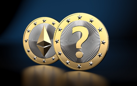 Ethereum - What is the next BIG thing in Crypto Currencies? - 3D rendering