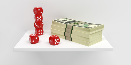 Dices and Dollars - 3D Rendering