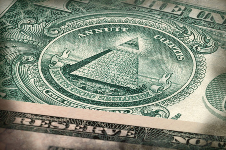 The Great Seal - Annuit coeptis - one dollar banknote
