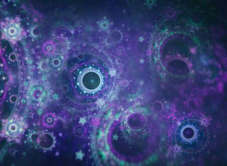 Fractal Art - A Mathematical Graphic Background Reklamní fotografie