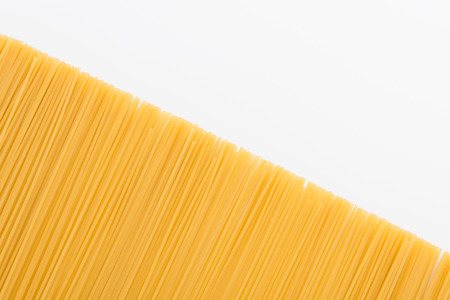 raw vermicelli for pasta Stock Photo