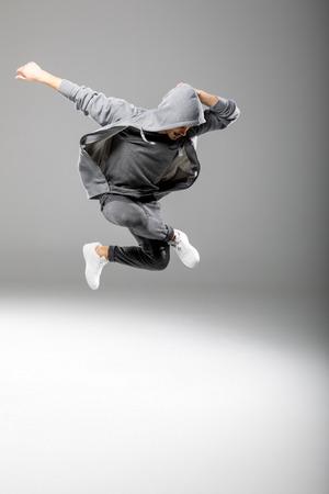 acrobatics: Young man dancing