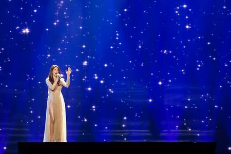 ユーロ ビジョン ・ ソング コンテストでアゼルバイジャンから Dihaj ...