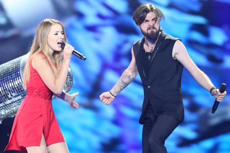 Ilinca & Alex Florea van het Eurovisie Songfestival 2017