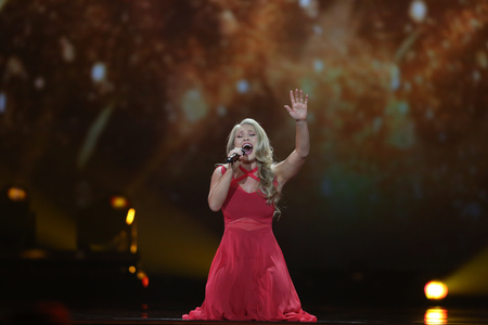 Anja Nissen from Denmark  Eurovision 2017 Editorial
