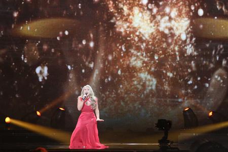 anja: Anja Nissen from Denmark  Eurovision 2017 Editorial