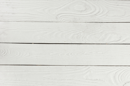 white textured wooden background from wooden planks