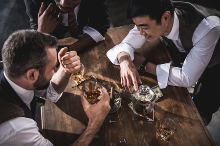 to spend: colleagues drinking alcohol while spending time together