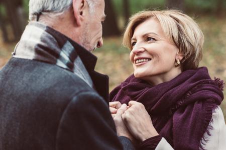 Happy mature couple Banque d'images
