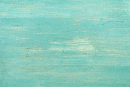 Abstract empty turquoise wooden textured background Standard-Bild