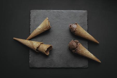 맛있는 초콜릿 아이스크림