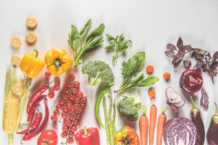 verschillende rijpe groenten