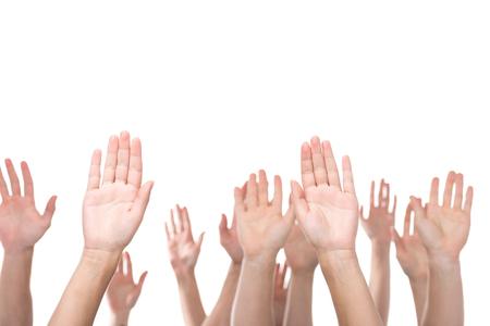 손을 들어주는 사람들