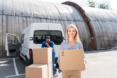 delivery Stock Photo - 85657008