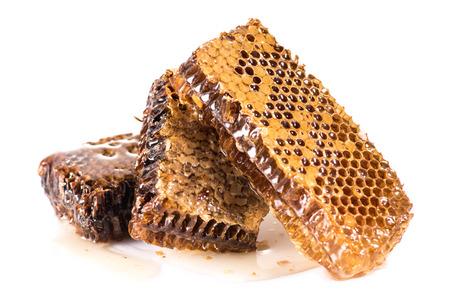 fresh healthy honeycombs