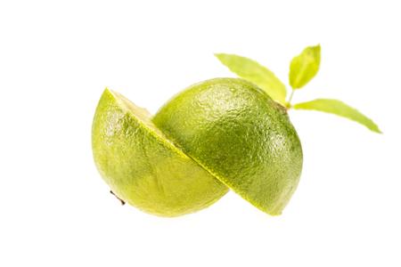 fresh halved lime