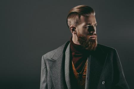 ハンサムな髭の男