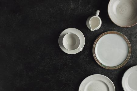 keramisch servies Stockfoto
