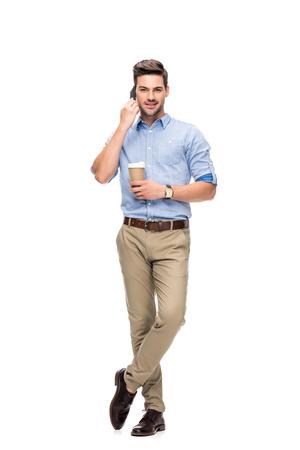 man talking by phone