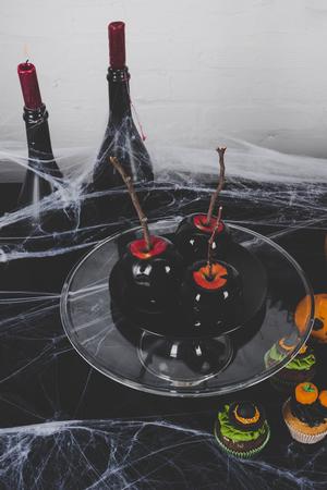 Halloween-appeldessert