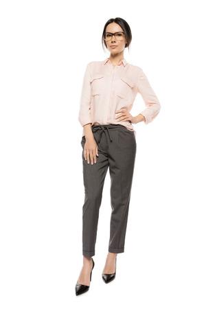 beautiful stylish woman Stock Photo
