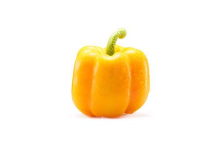yellow bell pepper Stok Fotoğraf