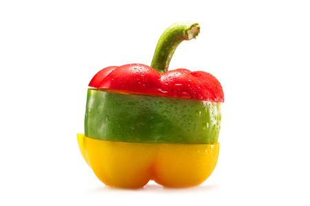 gesneden peper