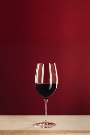 glass with red wine Stock fotó