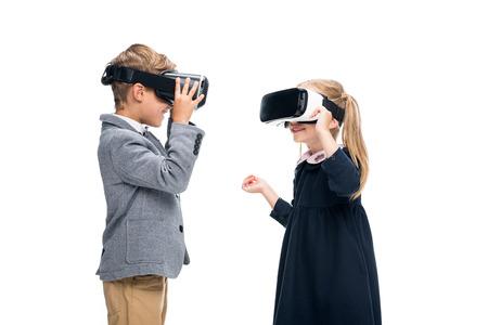 VR ヘッドセットの生徒