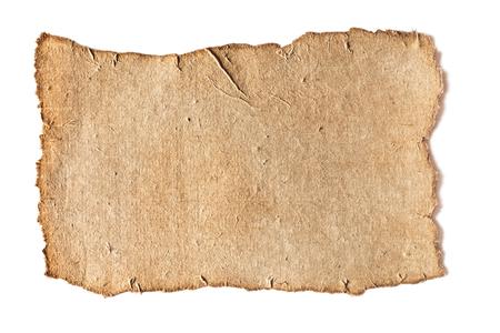 blank grunge paper texture Stock Photo