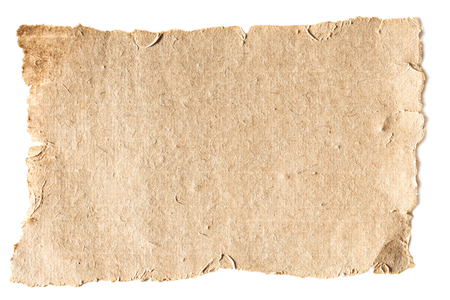 blank aged paper texture Stock Photo