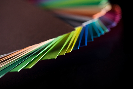 different  colorful papers