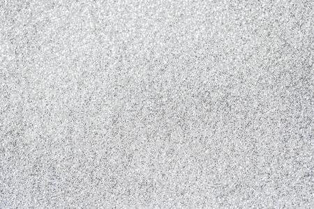 Zilver glinsterende glanzende pailletten achtergrond Stockfoto