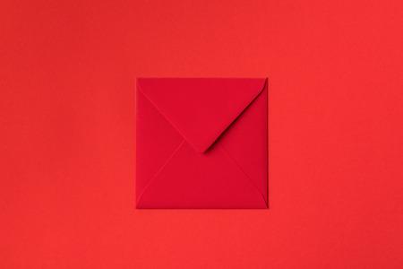 붉은 색으로 장식 장식 축제 빨간 봉투의 근접 촬영보기
