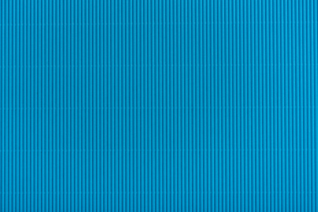 close up view of blue cardboard texture