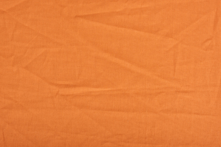 Nahaufnahme der orange Leinen Stoff Textur Standard-Bild - 89970858