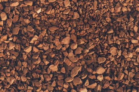 brown instant coffee texture or background Banco de Imagens