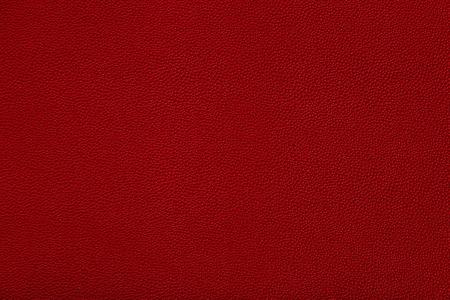 빨간색 가죽 패브릭 질감의 뷰를 닫습니다 스톡 콘텐츠