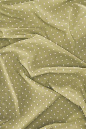 Lgant tissu soyeux à pois en arrière-plan Banque d'images - 89983081