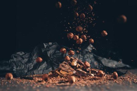 Vallende noten