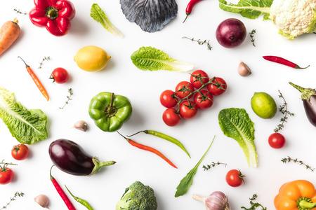 未加工野菜 写真素材
